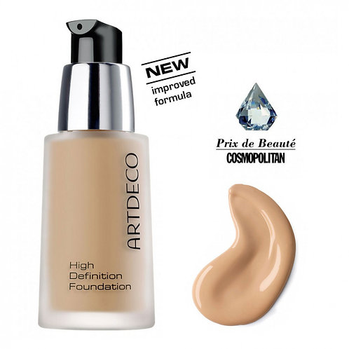 High definition foundation medium honey beige Nº11