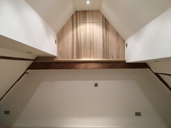 Solid tulip wood cupboard front