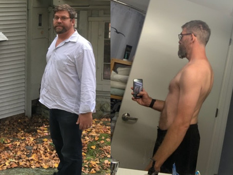 Client Case Study: 58lbs in 365 days