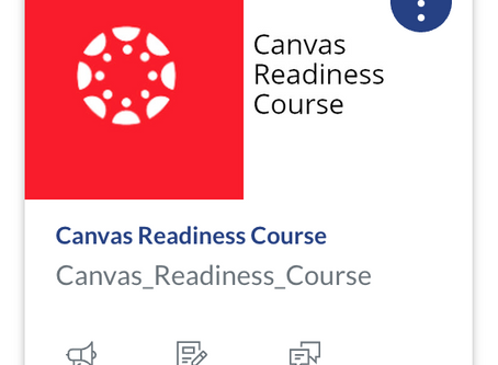 Completed the Canvas Learning Management System software training.
