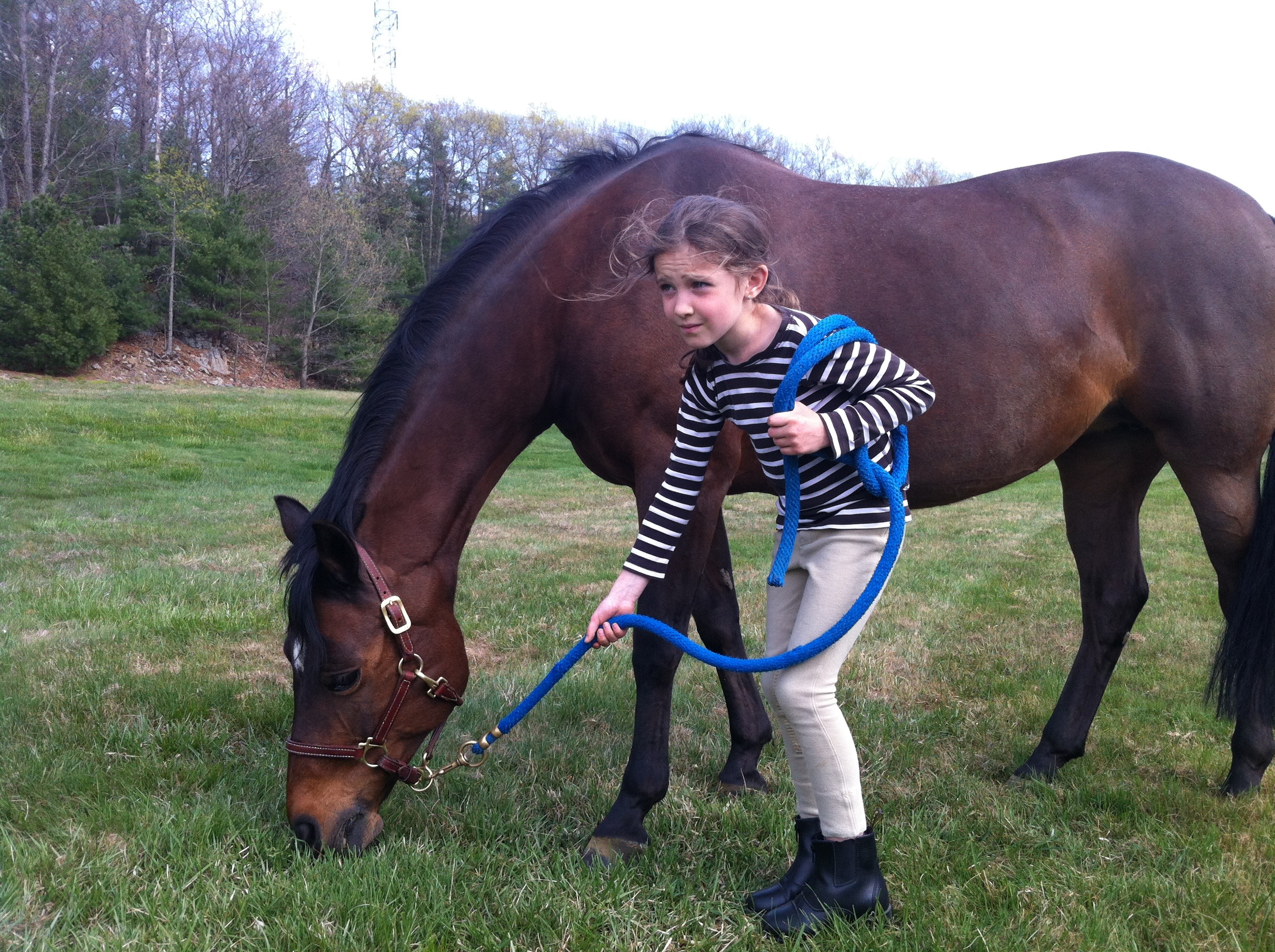 Anna with Horse