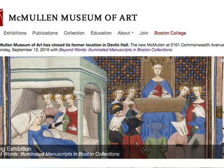 McMullen Museum Exhibition Support