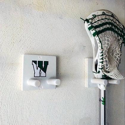 Simple Lacrosse Stick Holder