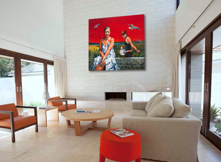 Placing Art in a Room