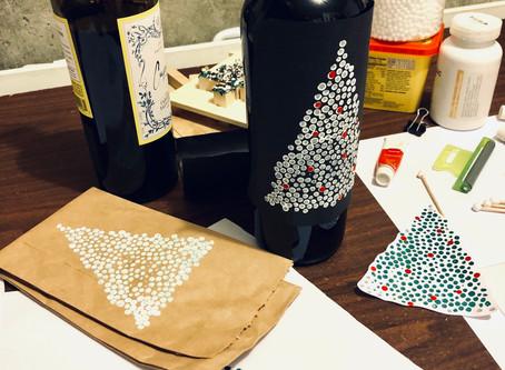 Starting the 2019 Holiday Bottle Design!