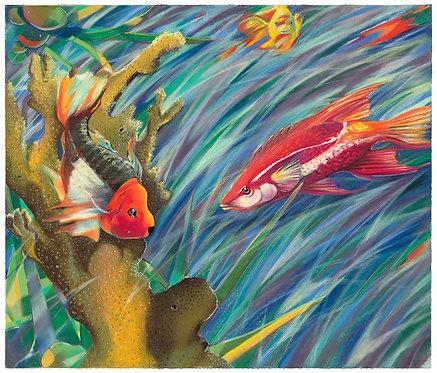 Float #1 (Scarlet Swimmer)