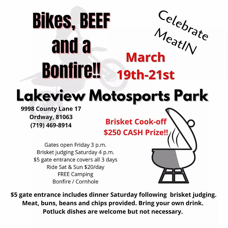 Bikes, BBQ, and Bonfire