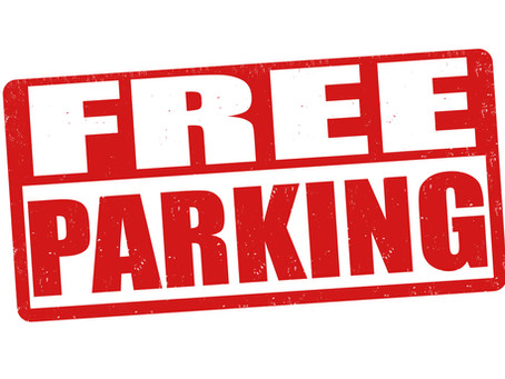 Free Parking during Osteopathy Treatment