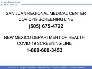 San Juan County Coronavirus Update