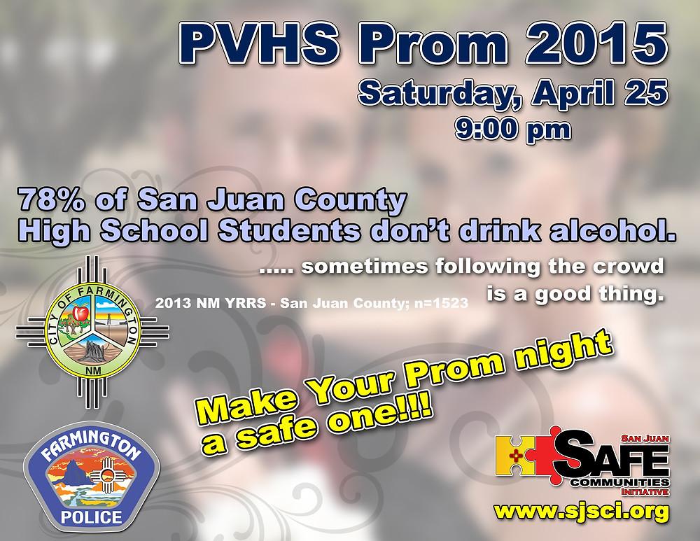 2015 COF FPD SJSCI partnershipPVHS Prom Message.jpg