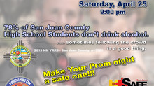 PVHS & FHS - Safe Prom Message