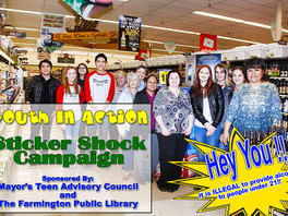 Youth In Action:  Sticker Shock