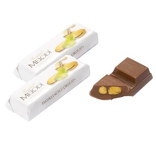 Melodi Fıstıklı Tablet Çikolata 22g