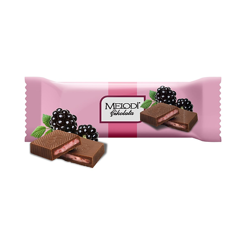 Sütlü Böğürtlenli Çikolata 25g