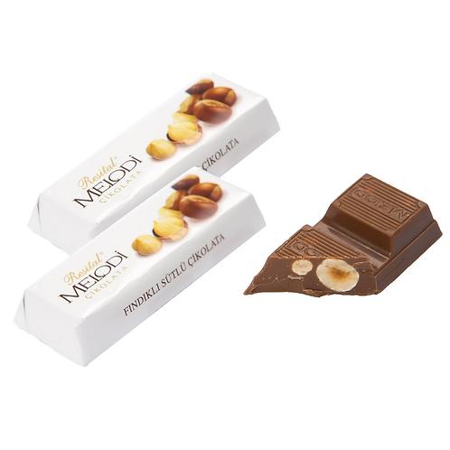 Melodi Fındıklı Tablet Çikolata 22g