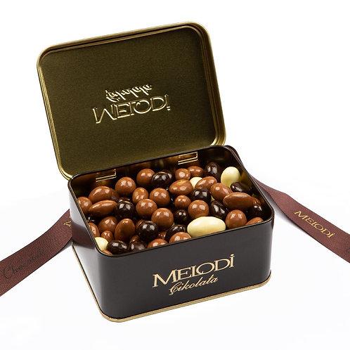 Metal Kutulu Çikolata Draje 300g