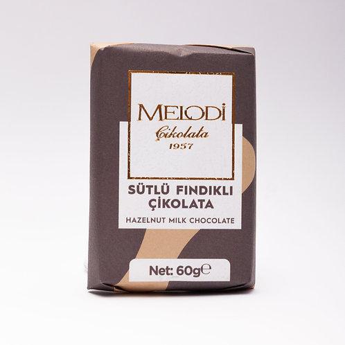 Sütlü Fındık Beyoğlu Çikolatası 60g