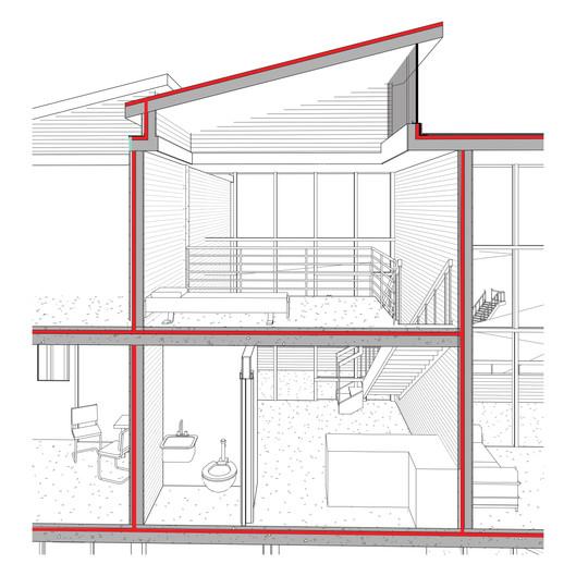 Lofted Studio Apartment Section