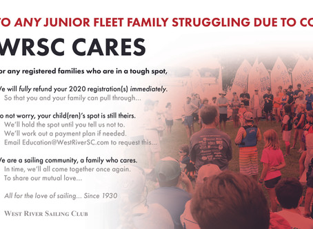 WRSC Cares, a message to our JR Fleet family
