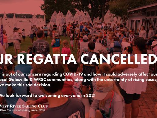 2020 JR Regatta Cancelled.