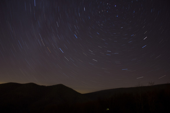Night Sky - Blacksburg