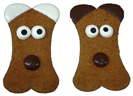 Mutt Face Cookie