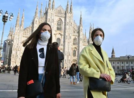 Feira de Milão e o novo Corona Vírus
