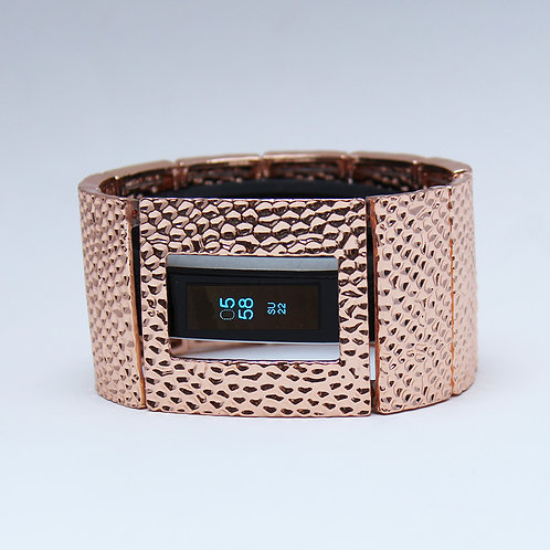 FitBit® Alta Bracelet: Hammersmith in Rose Gold with Window