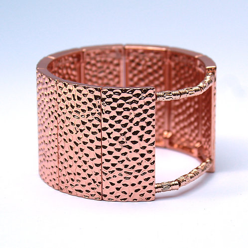 Fitbit® Surge Cover Bracelet: Hammersmith in Bright Rose Gold with Window
