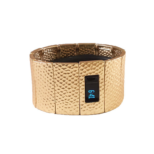 FitBit® Charge and Charge HR Bracelet: Hammersmith in Matte Gold with Window