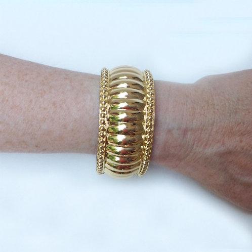 FitBit® Flex, Alta, or Charge Cover Bracelet: Gold Soho Bangle