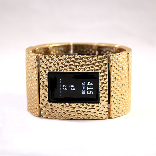 FitBit® Charge 2 Bracelet: Hammersmith in Matte Gold with Window