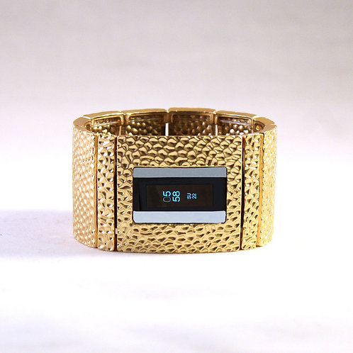 FitBit® Alta and Insprire Bracelet: Hammersmith in Matte Gold with Window