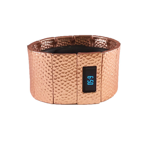 FitBit® Charge & Charge HR Bracelet: Hammersmith in Shiny Rose Gold with Window