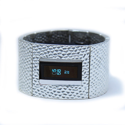 FitBit® Alta Bracelet: Hammersmith in Matte Silver with Window