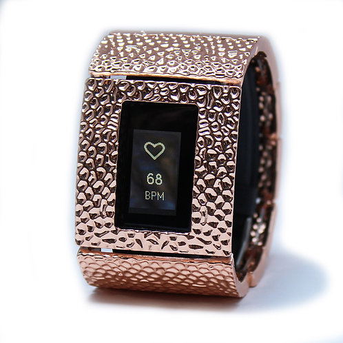 FitBit® Charge 2 Bracelet: Hammersmith in Rose Gold with Window