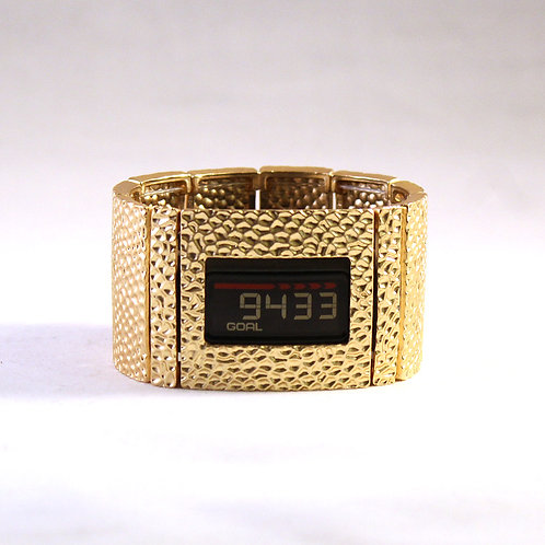 Garmin® Vivofit 1, 2, and 3 Cover Bracelet: Hammersmith in Gold with Window