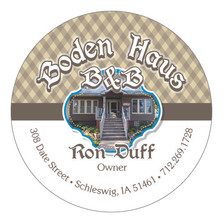 Boden Haus Coaster