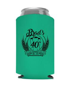 Brad's 40th Koozies