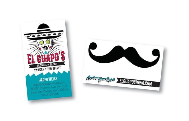 El Guapo's Business Card