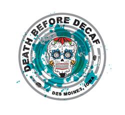Death Before Decaf Logo