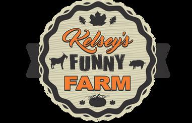 Kelsey's Funny Farm Logo
