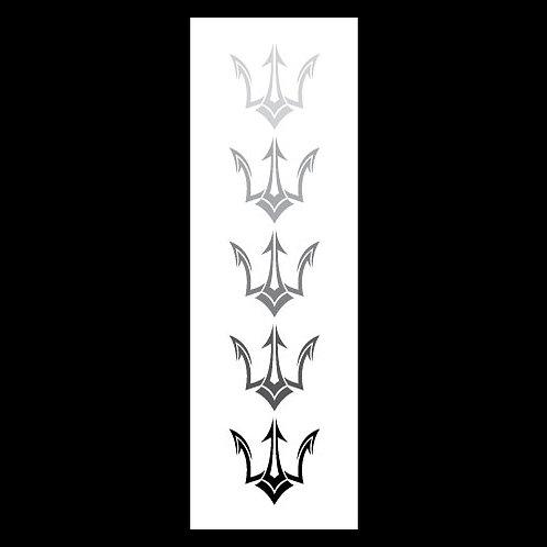 Split Spear Logo - Gradient