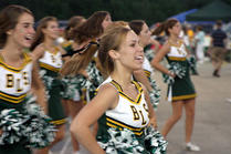 Ben Lippen School - Cheerleading - 2018.