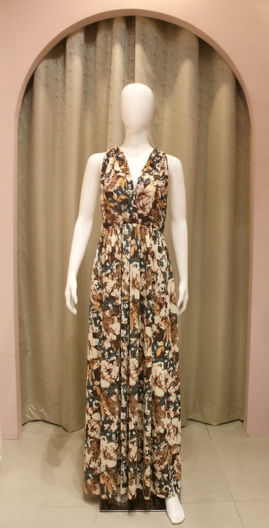 Infinity Gown - Printed