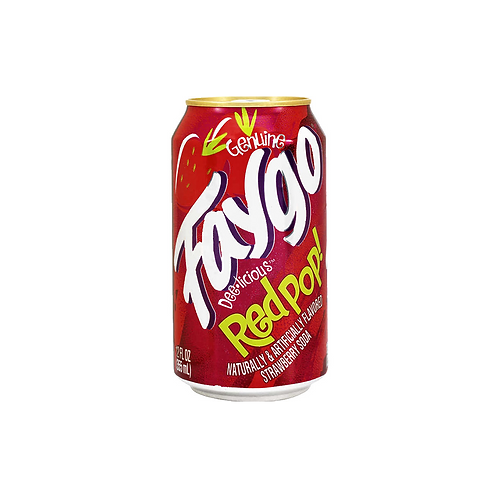 Faygo Red Pop Cans 355ml