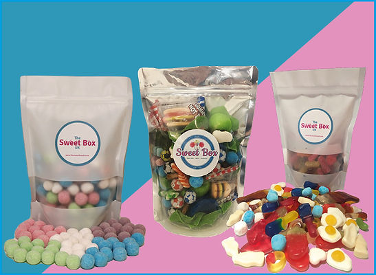 Pick n mix sweet bags - homepage tile