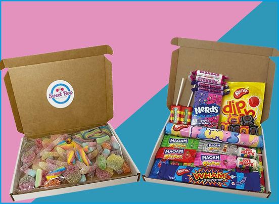 Pick n mix sweet box - homepage tile