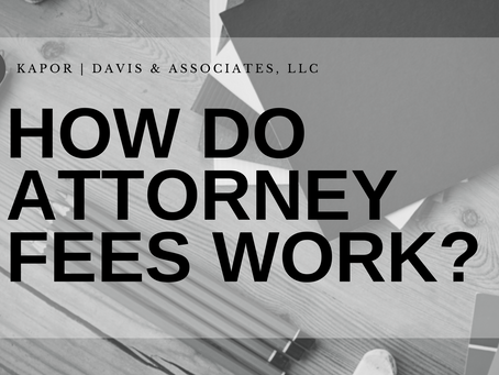 How Attorney Fees Work
