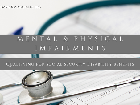 Understanding Mental and Physical Impairments